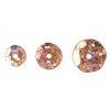 Sequins Round 6/8/10mm Hologram Peach
